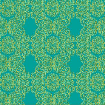 Vector vintage background with decoration flowers - Free vector #126440
