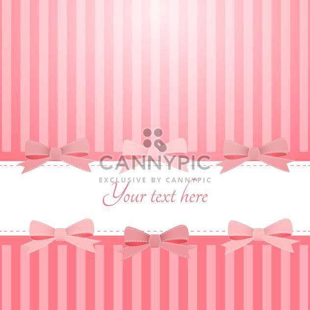Vektor rosa Hintergrund mit Bögen und Text-Platz - Free vector #127230