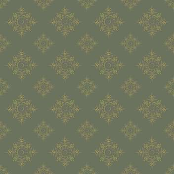 Seamless vintage retro pattern with floral pattern - vector gratuit #127700