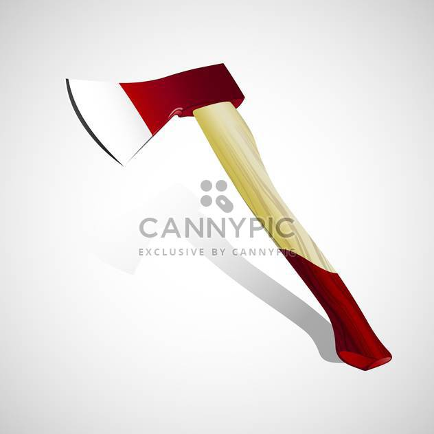 vector illustration of Ax on white background - Free vector #127910