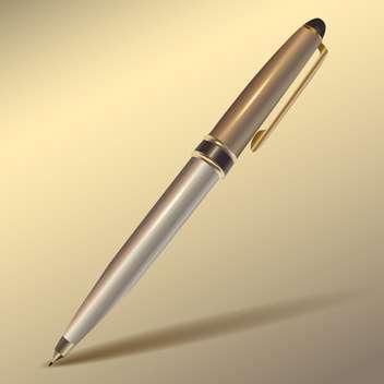 Vector pen with shadow - бесплатный vector #128150