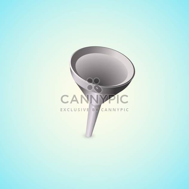 Funnel vector illustration icon - Free vector #128200