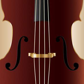 Vintage cello, vector illustration - Free vector #128210