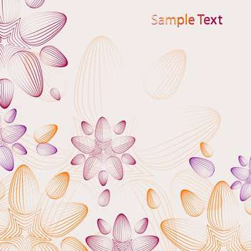 Abstract vector background with sample text - Free vector #128450