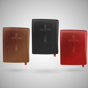 set of vector holy bibles - бесплатный vector #129220