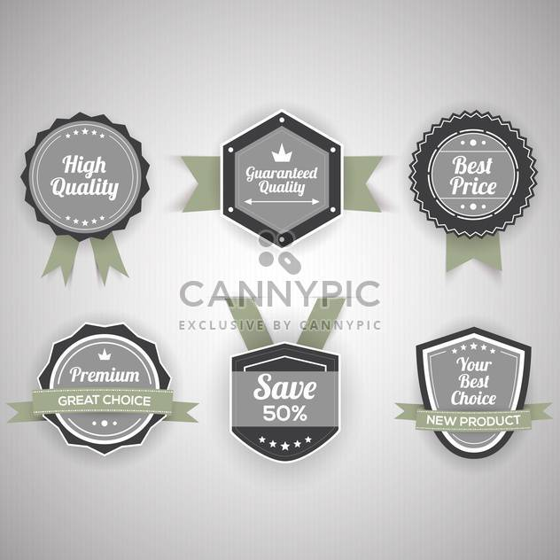 Vector set of special offer stickers - Free vector #130160