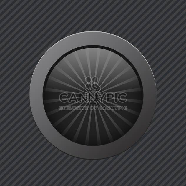 black off power vector button - Free vector #130260