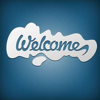 Signg Welcome texture background - vector #130370 gratis