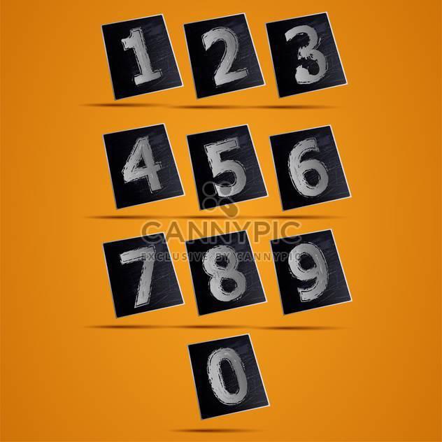 Nummer Telefon-Tastatur-Vektor-illustration - Kostenloses vector #131430