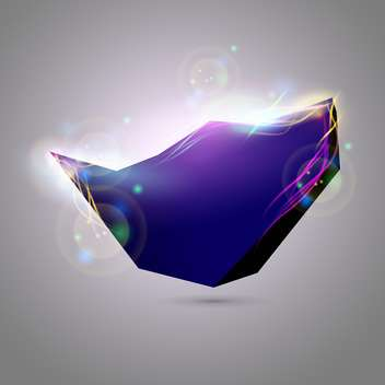 vector abstract 3d object illustration - Free vector #132770