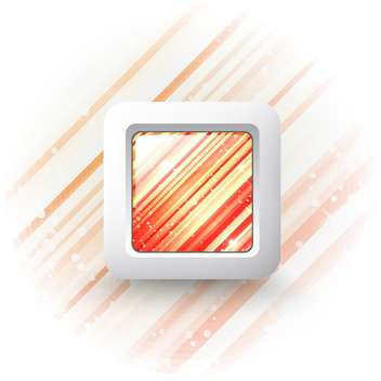 square vector web button - Free vector #132840