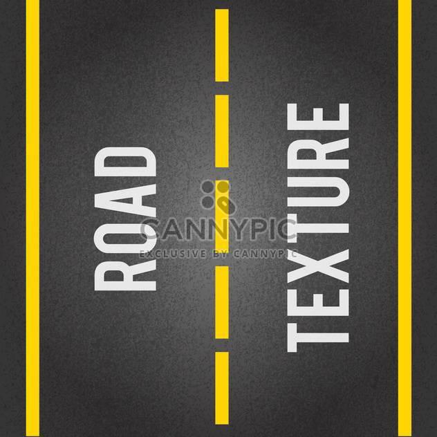 Straße Linien nahtlose Textur - Free vector #133020