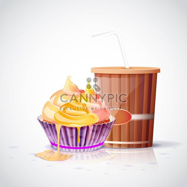 tea party set background - Free vector #133100
