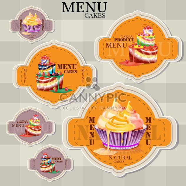 Website-Gestaltung-Schablonen für Café oder restaurant - Free vector #133110