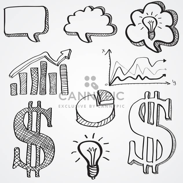 business signs vector illustration - Free vector #133290