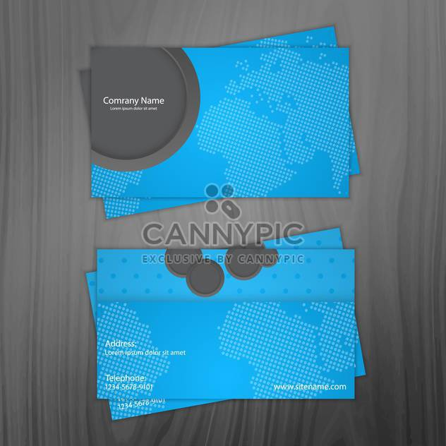 business cards vector background - Free vector #133770