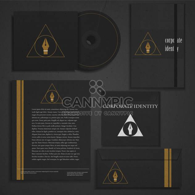 business corporate identity template - Free vector #133830