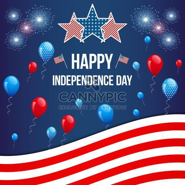 american independence day background - Free vector #134050