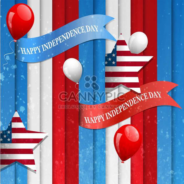 amerikanischen Unabhängigkeitstag-Hintergrund - Free vector #134460