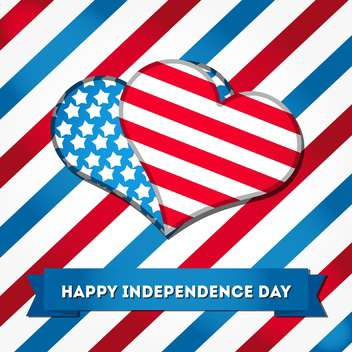 independence day holiday background - vector gratuit #134500