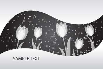 vector abstract floral background - Free vector #134820