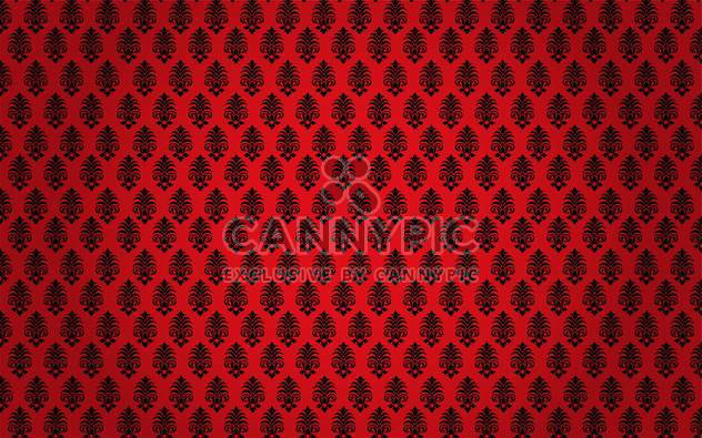 damask seamless floral pattern set - Free vector #134900