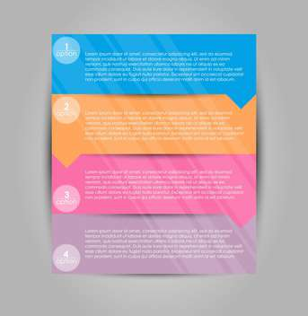 Set of vector tags for web design options - vector gratuit #135300