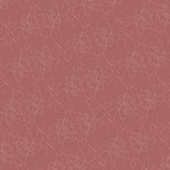 Vector vintage background with floral ornamental pattern - Free vector #126600