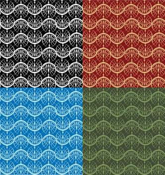Vector illustration of colorful seamless pattern - vector gratuit #127330
