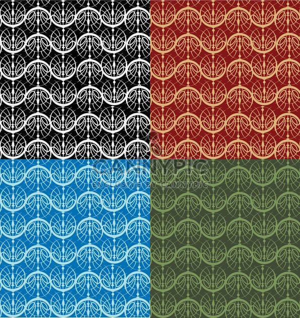 Vector illustration of colorful seamless pattern - Free vector #127330