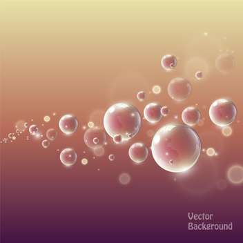 water drops on bright background - vector #127970 gratis