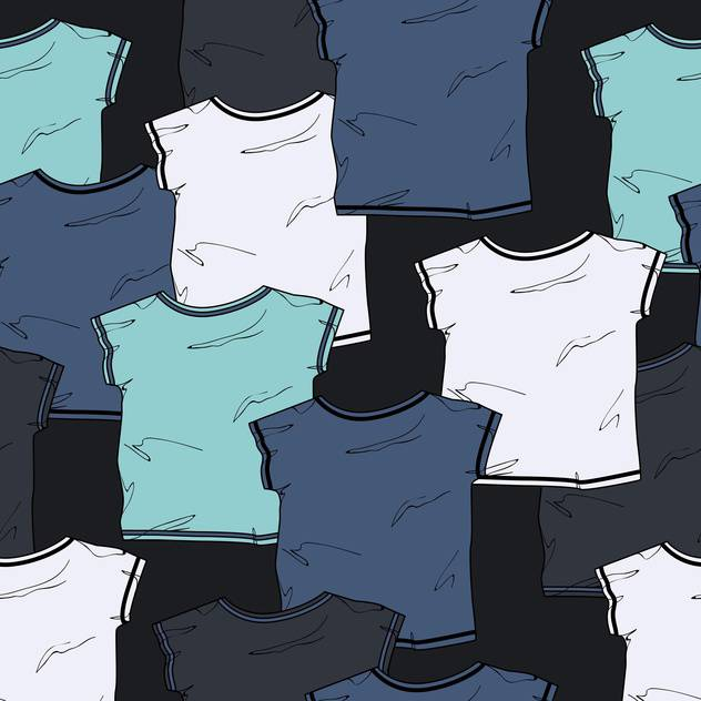 colorful vector background with male shirts - бесплатный vector #128010