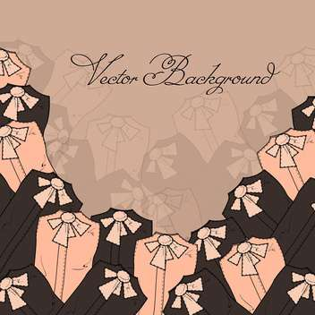 Vector background with blouses - Kostenloses vector #128170