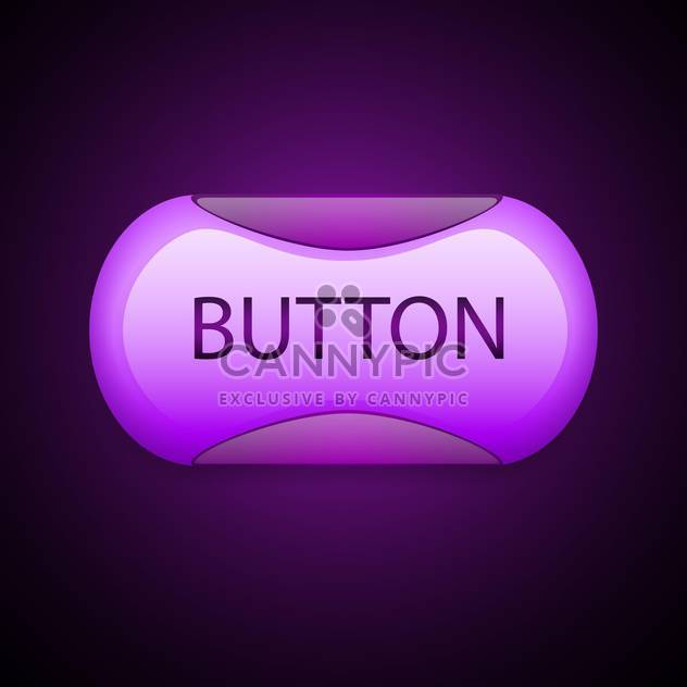 pink web vector 3d button - Free vector #129070