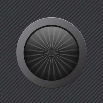 black off power vector button - vector #130260 gratis