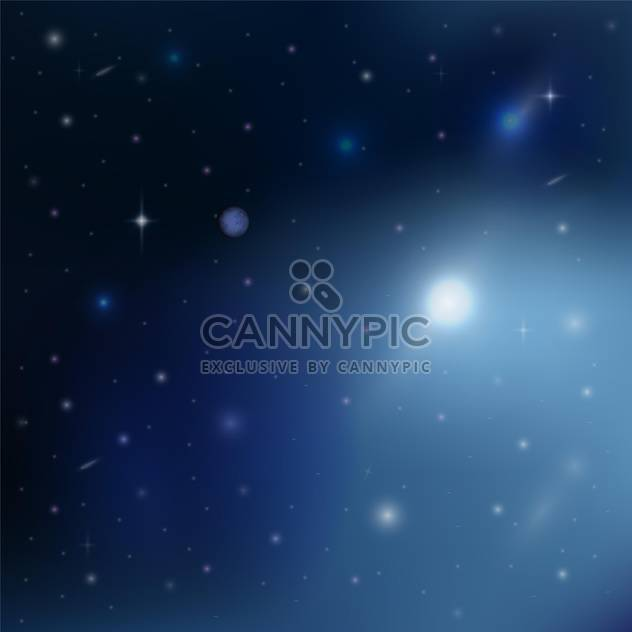 stars in outer space abstract background - Free vector #131070