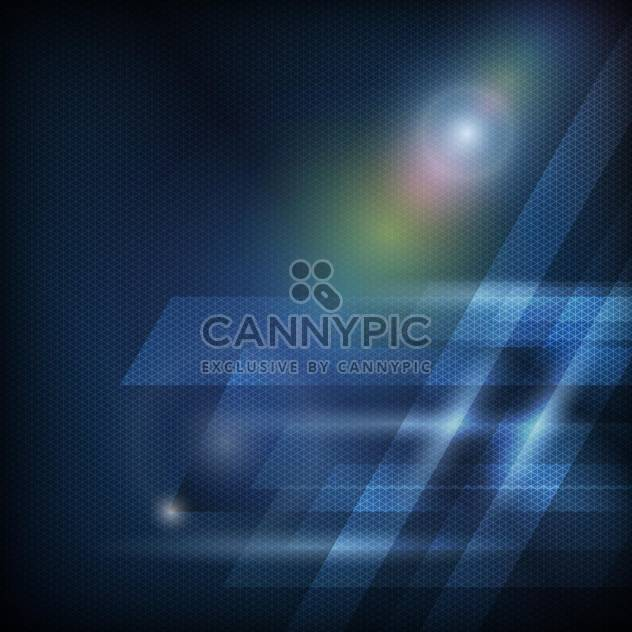 Abstract blue curves background - Free vector #131260
