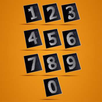 Number phone keypad vector illustration - vector gratuit #131430