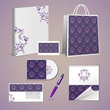 Professional corporate identity kit - Free vector #131450
