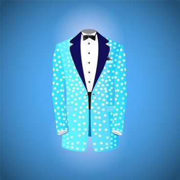 Blue suit vector illustration - vector gratuit #131570