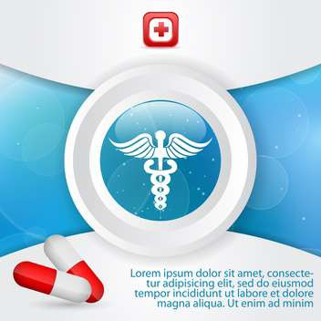 medicine and health care signs - Free vector #132760