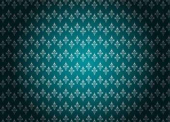 Seamless damask pattern background - vector gratuit #133260