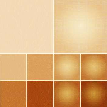 vector set of leather background - vector #133480 gratis
