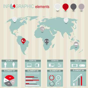 set of business infographic elements - vector #133530 gratis
