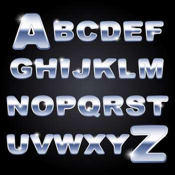 vector education alphabet letters set - vector #133590 gratis