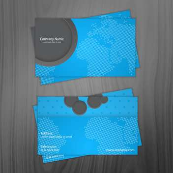 business cards vector background - vector #133770 gratis