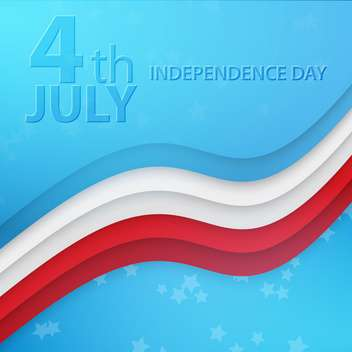 american independence day background - vector gratuit #133890