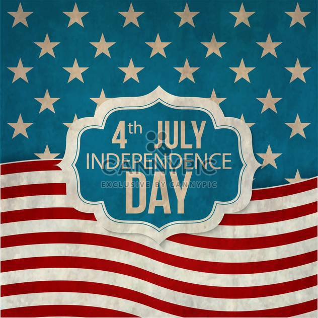 poster for usa independence day celebration - Free vector #134120