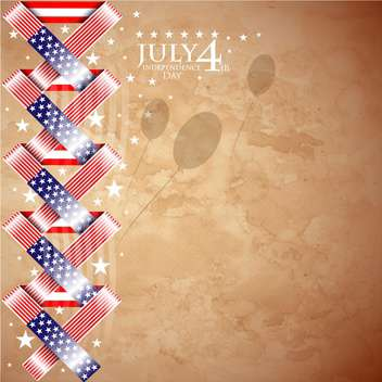 usa independence day illustration - vector #134150 gratis
