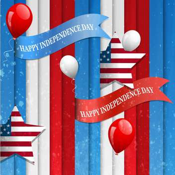 american independence day background - vector gratuit #134460